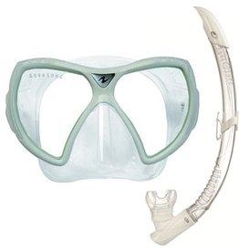 AquaLung Aqua Lung Visionflex LX + Airflex Purge LX Arctic Wit