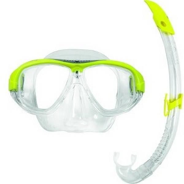 AquaLung Aqua Lung Coral LX + Airflex LX Geel