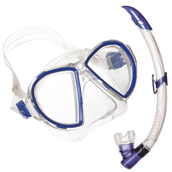 AquaLung Aqua Lung Duetto Midi LX + Airflex Purge Midi LX Blue KIDS