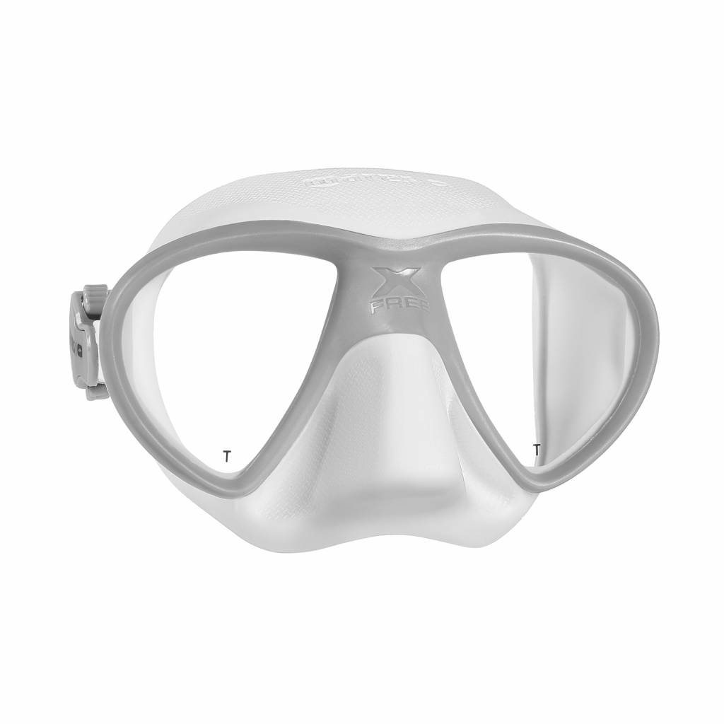 Mares Mares X Free dive Masker Wit/Grijs