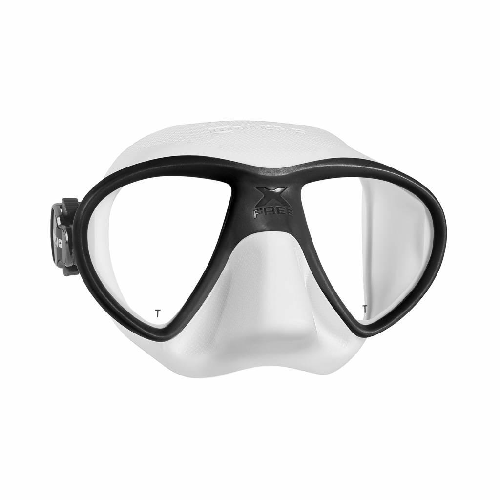 Mares Mares X Free dive Masker Wit/Zwart