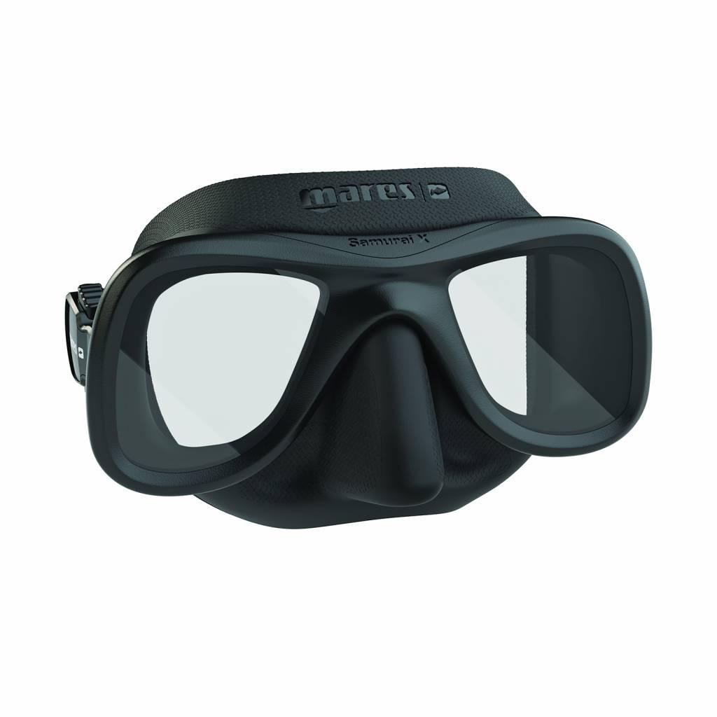 Mares Mares Samurai X Duikbril Zwart