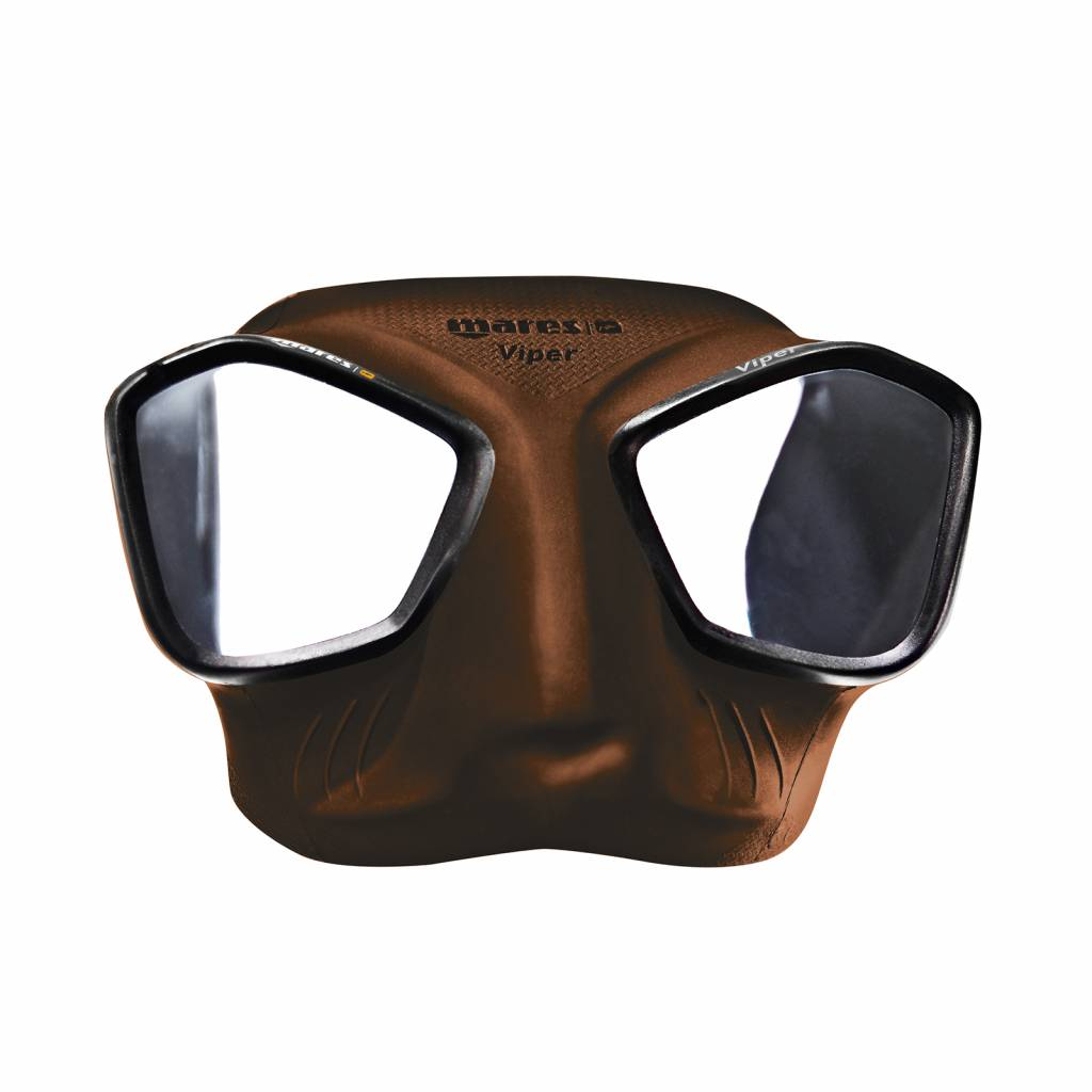 Mares Mares Viper Freedive Duikbril Bruin