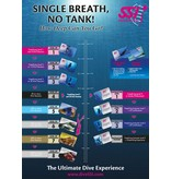 Mares Mares DUAL Basic Freedive Snorkel Blauw