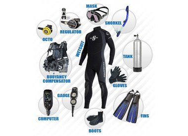 RENTAL DIVING EQUIPMENT