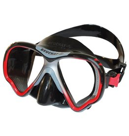 Beuchat Beuchat VIEW-MAX 2 HD Optical Mask Black/red