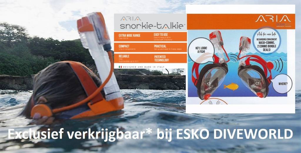 Ocean Reef Snorkie Talkie Aria Ocean Reef Masker Communicatie systeem