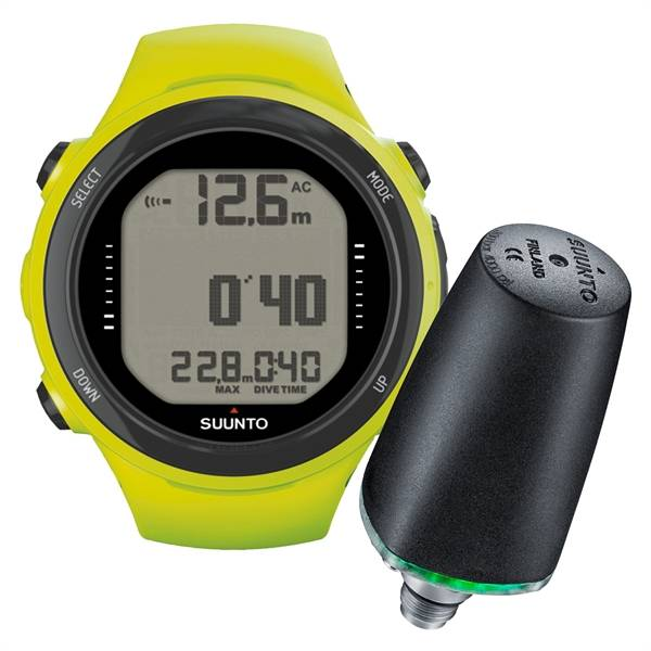 Suunto Suunto D4i Novo duikcomputer + Tank pressure Transmitter ACTIE