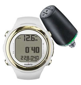 Suunto Suunto D4i Novo  White Gold Divecomputer with Transmitter