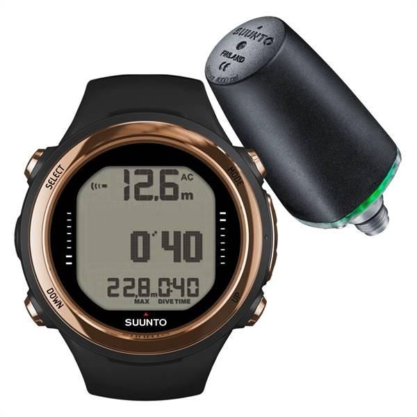 Suunto Suunto D4i Novo Copper duikcomputer + Tank pressure Transmitter ACTIE