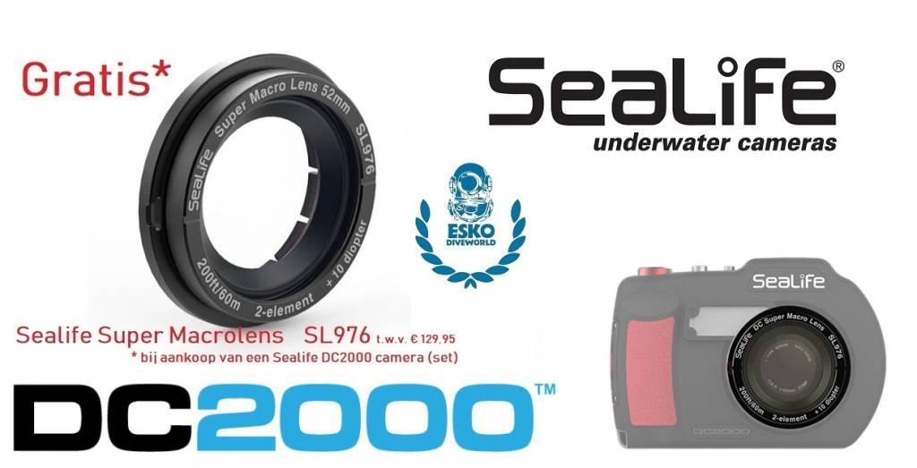 GRATIS* Sealife Super Macrolens SL 976 bij aankoop van een Sealife DC 2000 camera (set)