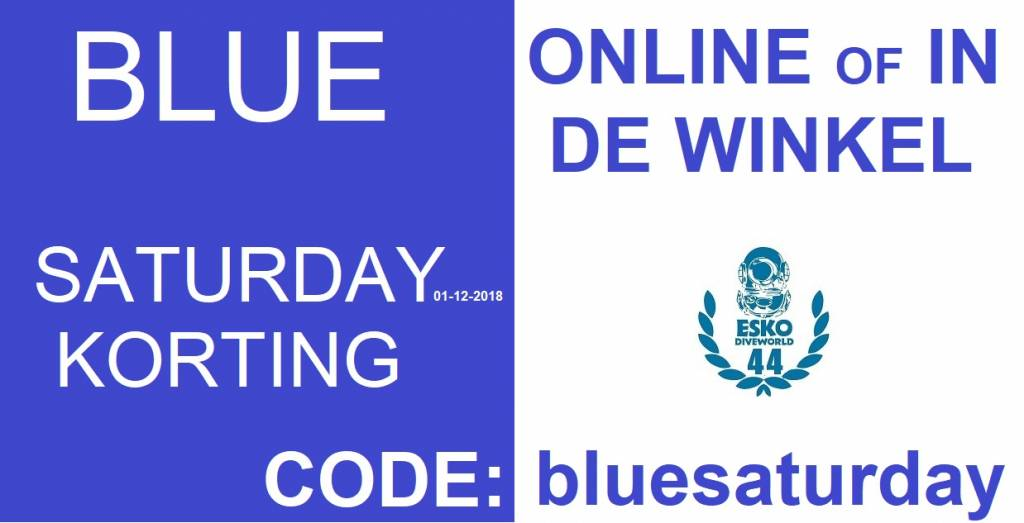Blue Saturday By ESKO Diveworld