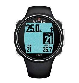 Ratio Ratio iDive Easy Sport duikcomputer Zwart