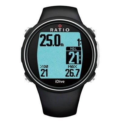 Ratio Ratio iDive Easy Sport duikcomputer Geel