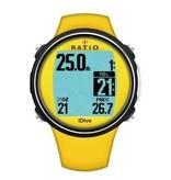 Ratio Ratio iDive Easy Sport duikcomputer Groen