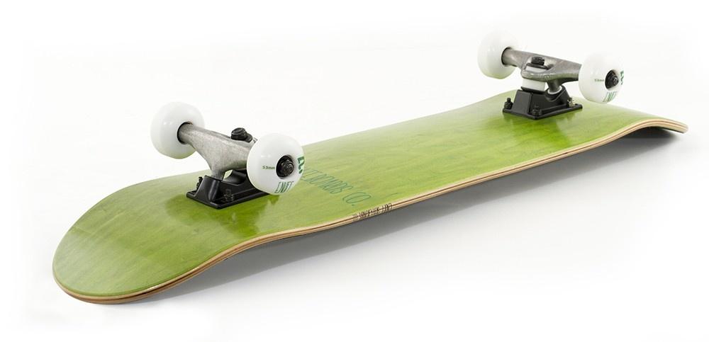 Enuff Enuff Skateboard Logo Stain Green