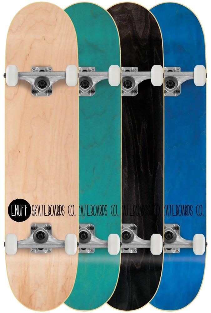 Enuff Enuff Skateboard Logo Stain Aqua