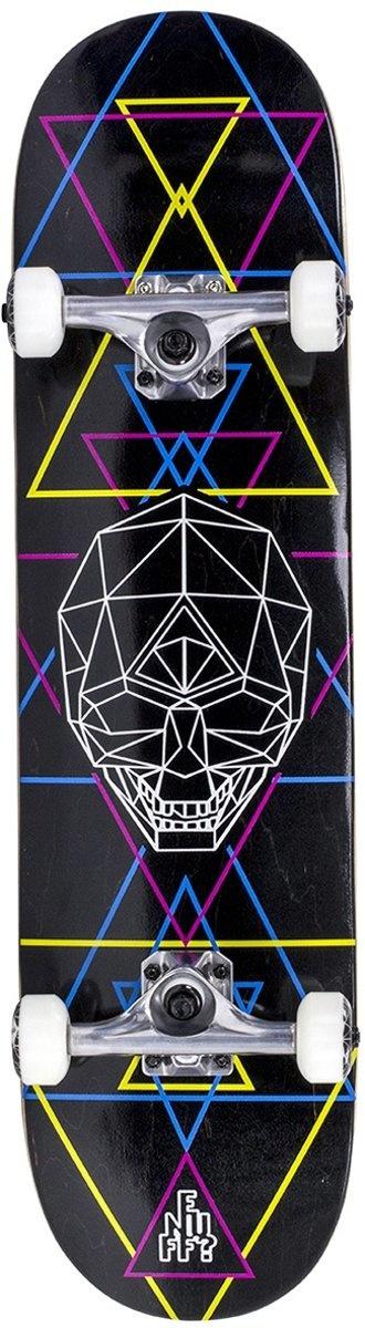 Enuff Enuff Skateboard Geo Skull Zwart