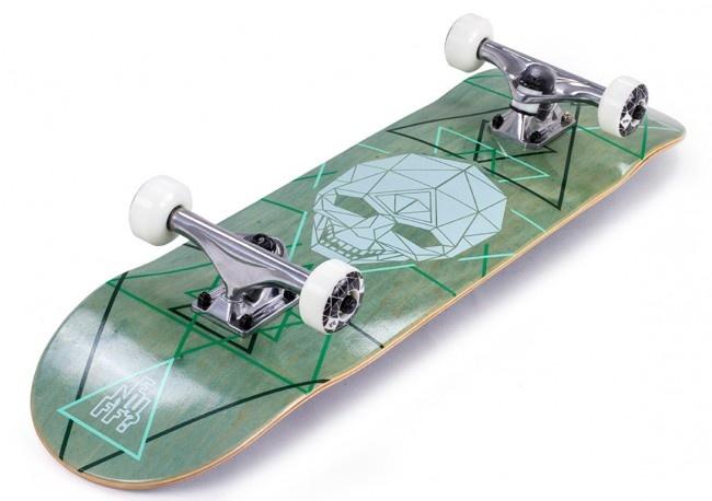 Enuff Enuff Skateboard Geo Skull Groen