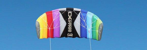 Cross Kites Cross Kites CX Air Rainbow 2-lijns