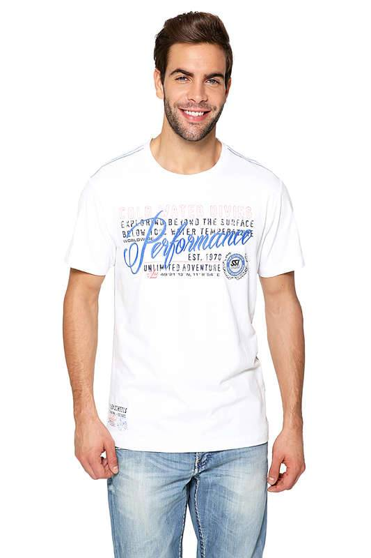 SSI SSI T-Shirt Men Cold Water Diving White