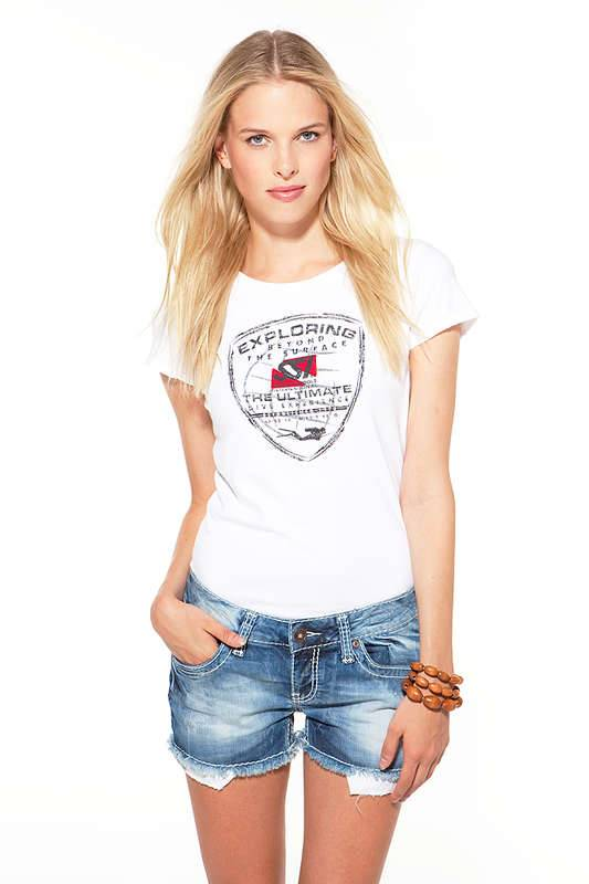 SSI SSI T-Shirt Exploring Lady