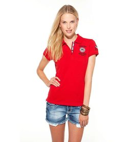 SSI SSI Polo Shirt Lady Red, de laatste