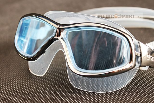 Arena Arena Orbit Silver/lightblue lens