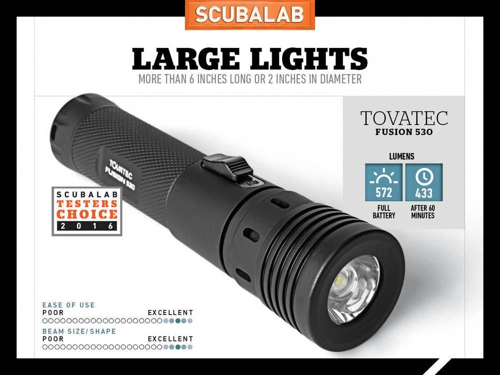Tovatec Tovatec Fusion 530 Duiklamp