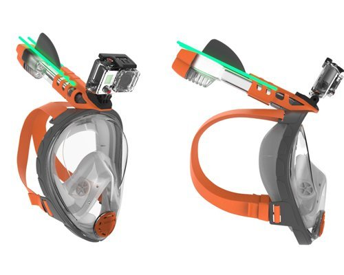 Ocean Reef GoPro Mount Aria Snorkelmasker