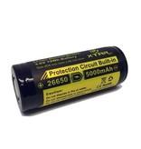 Xtar Li-ion Rechargeable 3,7 Volt accu 5000 mAh