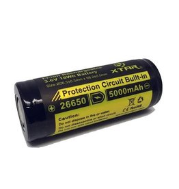 Xtar Li-ion Rechargeable 3,7 Volt accu
