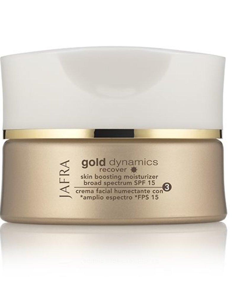 Jafra Cosmetics Jafra Gold Dynamics Boosting Feuchtigkeitspflege SPF 15 | Glastiegel | 50 ml