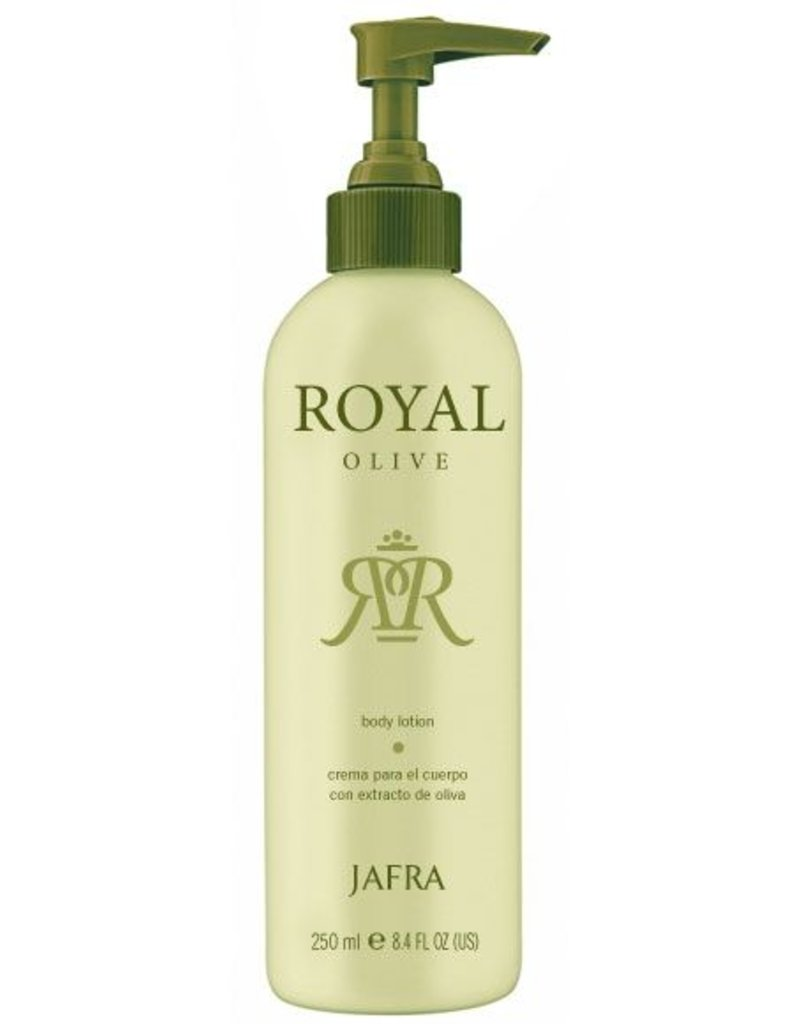 Jafra Cosmetics Jafra Royal Olive Körperlotion | Spenderflasche | 250 ml