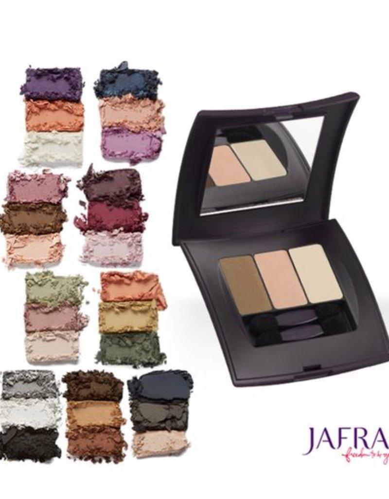 Jafra Cosmetics Jafra Lidschatten Trio | Spiegeldose | 4,2 g