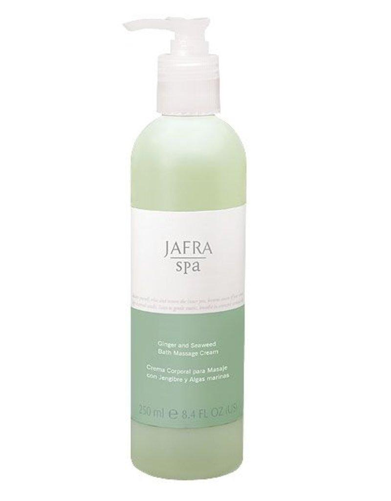 Jafra Cosmetics Jafra SPA Ingwer & Algen Körpermassagecreme | Spenderflasche | 250 ml