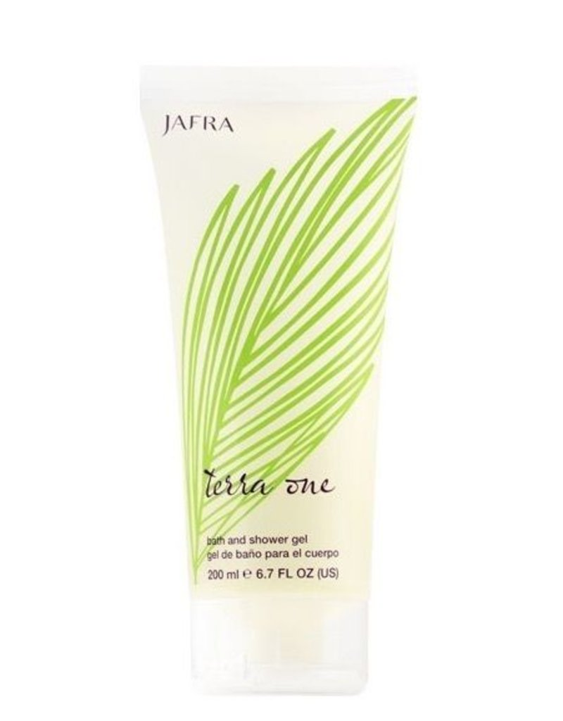 Jafra Cosmetics Jafra Terra One Bade- und Duschgel   Terra One Bath and Shower Gel   Tube 200 ml