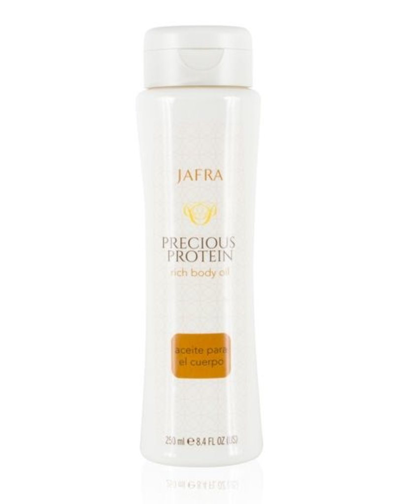 Jafra Cosmetics Jafra Precious Proteinöl | Reichhaltiges Körperöl | Flasche | 250 ml