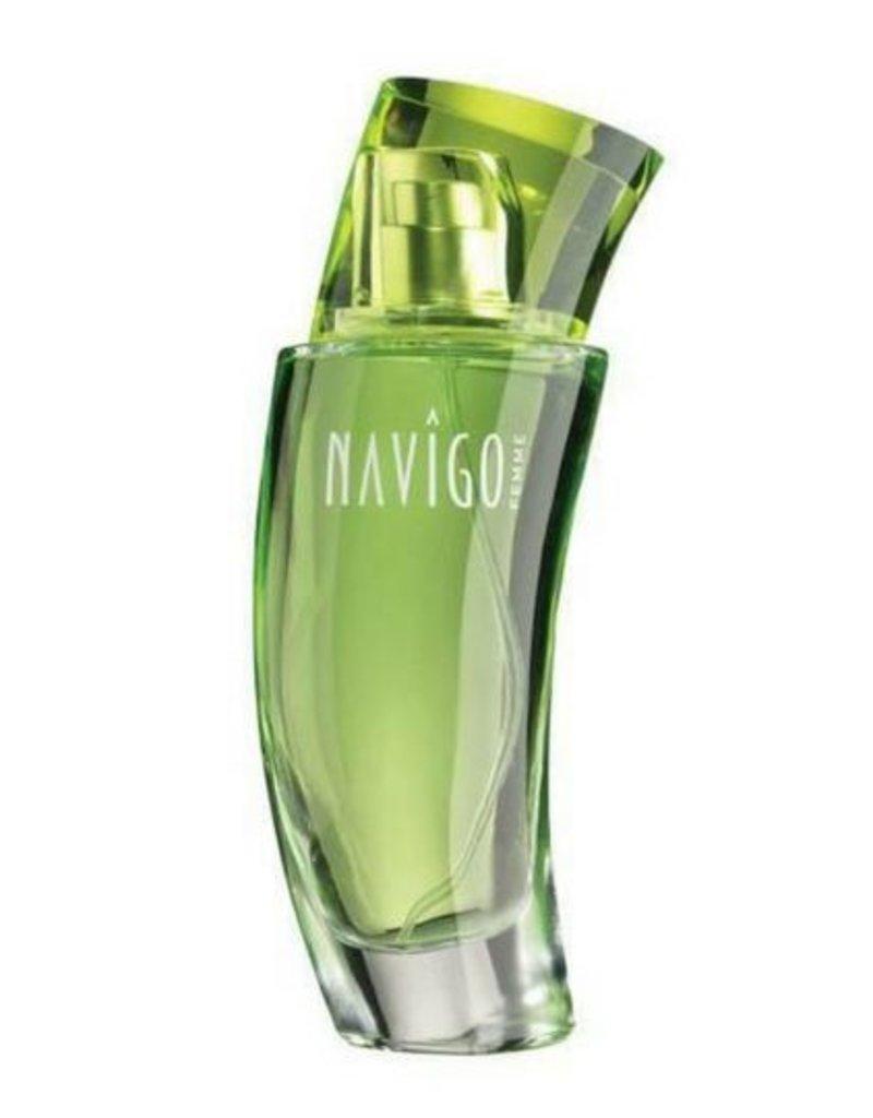 Jafra Cosmetics Jafra Navigo Femme | Eau de Toilette for Women | Glassprühflakon 50 ml