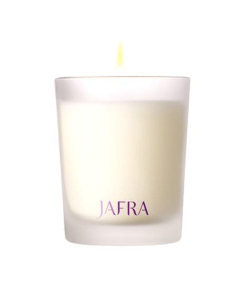 Jafra Cosmetics Jafra Spa Ingwer und Algen Duftkerze | Ginger and Seaweed Scented Candle | Kerze im Glas 125g