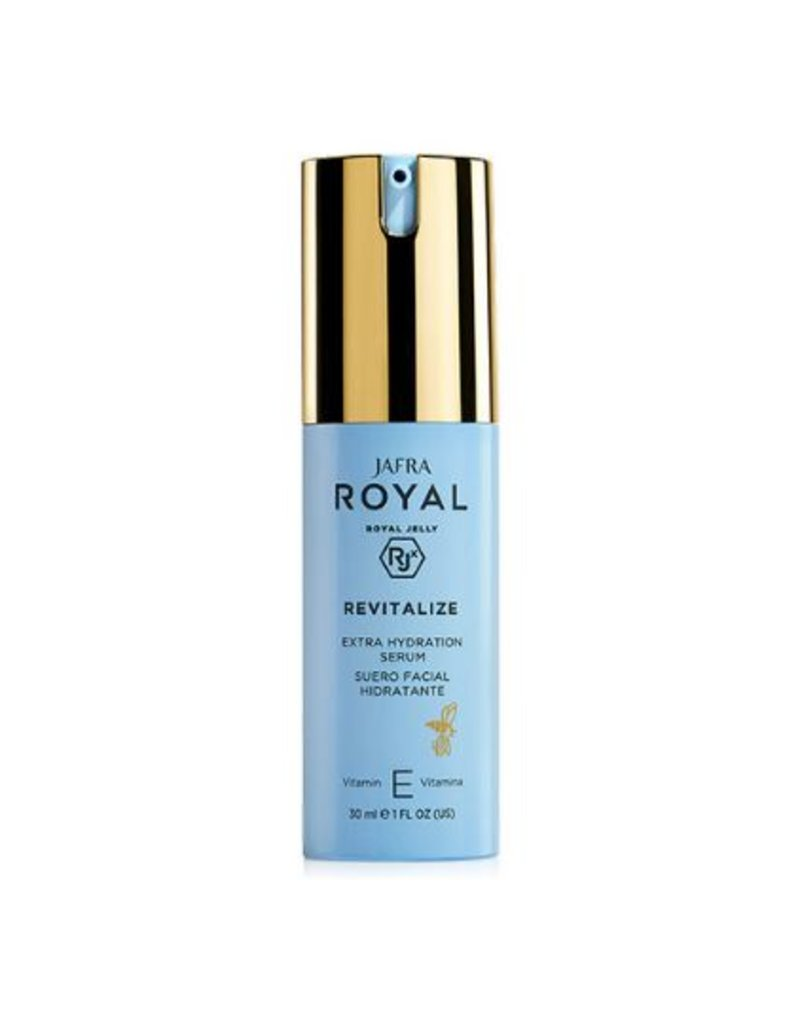 Jafra Cosmetics Jafra Royal Jelly Revitalize Extra-Feuchtigkeit Serum | Extra Hydration Serum | Spender 30 ml