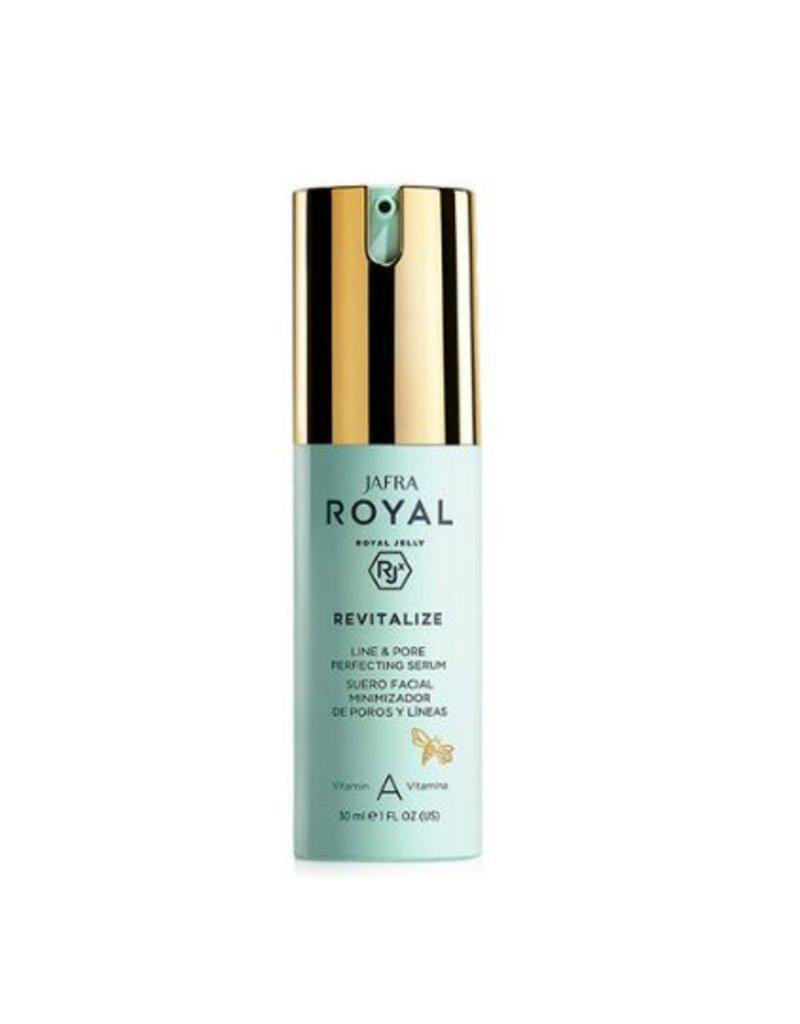 Jafra Cosmetics Jafra Royal Jelly Revitalize Fältchen- und Porenverfeinerndes Serum | Line&Pore Perfecting Serum| Spender 30 ml