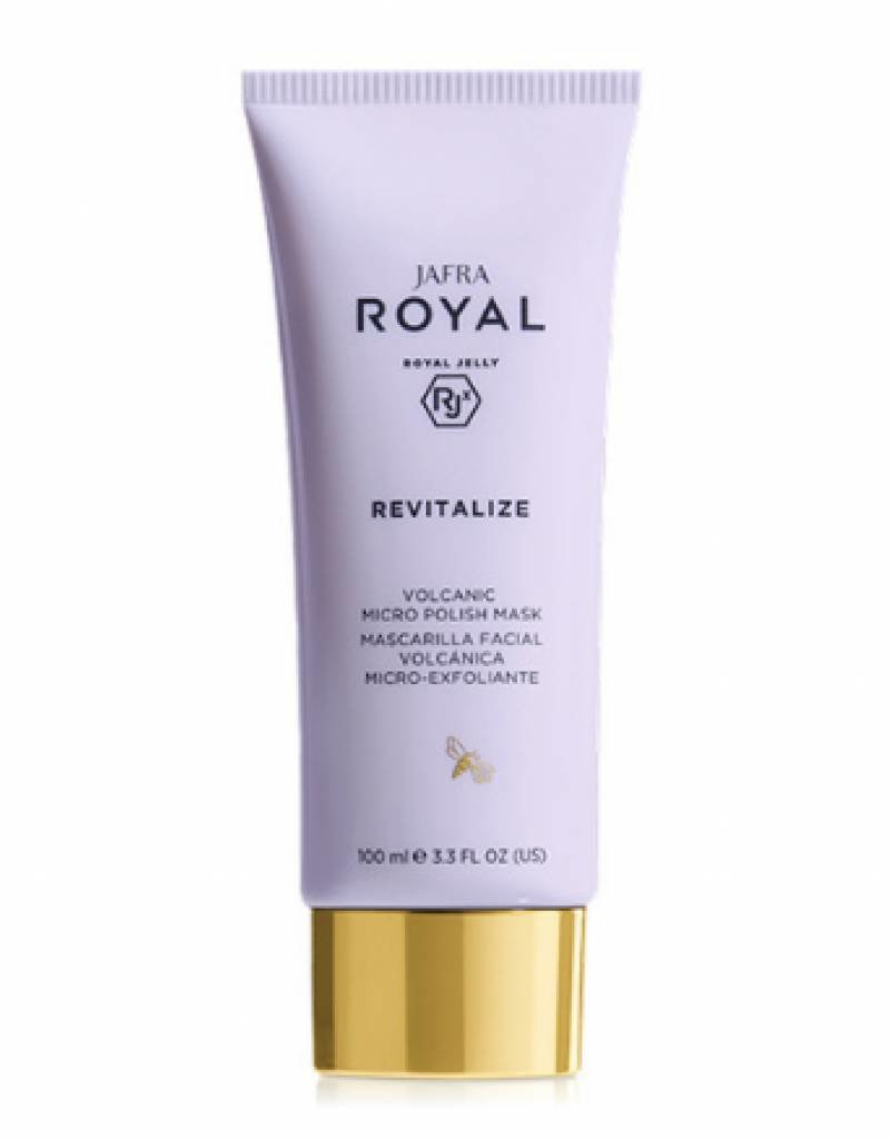 Jafra Cosmetics Jafra Royal Jelly Royal Revitalize | Vulkanische Mikropeeling-Maske  | 100 ml