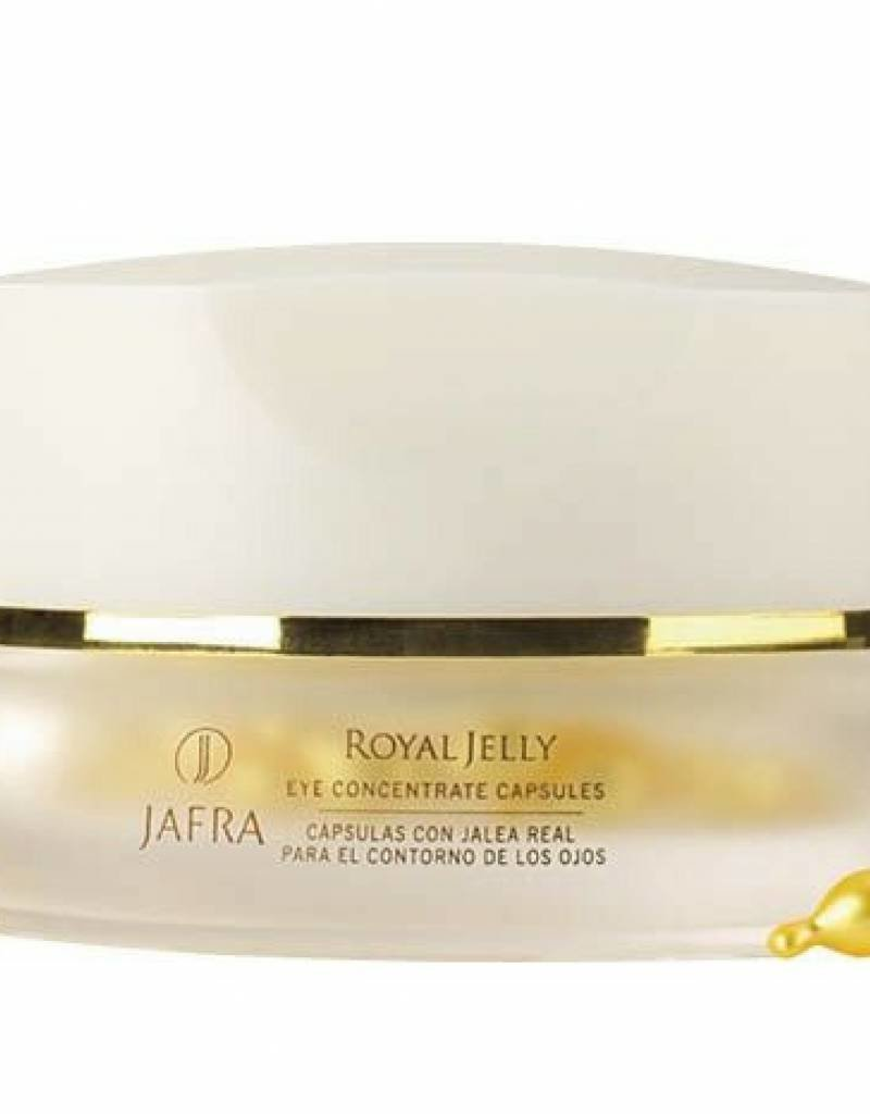 Jafra Cosmetics Jafra Royal Jelly Augenpflegekonzentrat | 60 Kapseln im Glastiegel