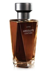 Jafra Cosmetics Jafra Absolute Leather | Eau de Toilette for Men  |  Glasflasche | 100 ml