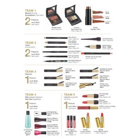 Jafra Cosmetics Jafra Deluxe Make Up SET  DELUXE | 10 Produkte