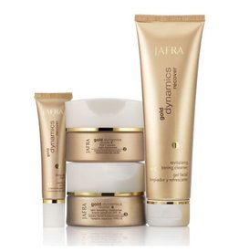 Jafra Cosmetics Jafra GOLD SET BASIC 4  Produkte