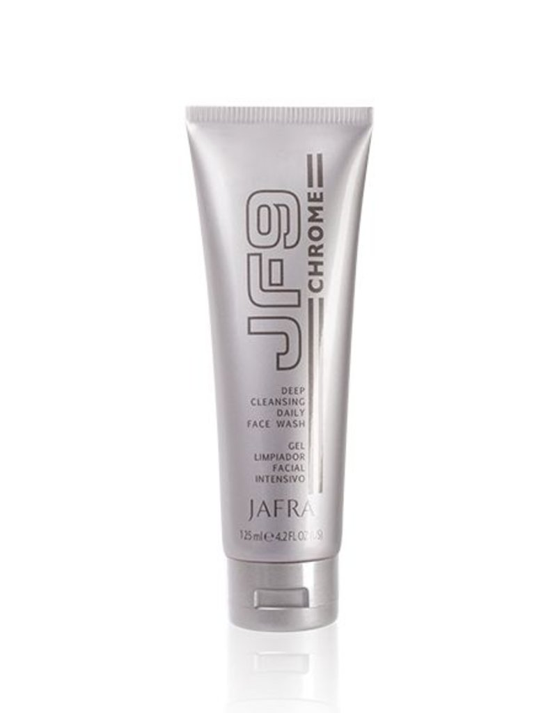 Jafra Cosmetics Jafra JF9 Chrome | Intensive Gesichtsreinigung | Tube | 125 ml