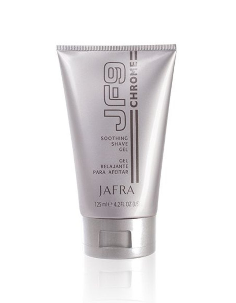 Jafra Cosmetics Jafra JF9 Chrome | Pflegendes Rasiergel | Tube | 125 ml