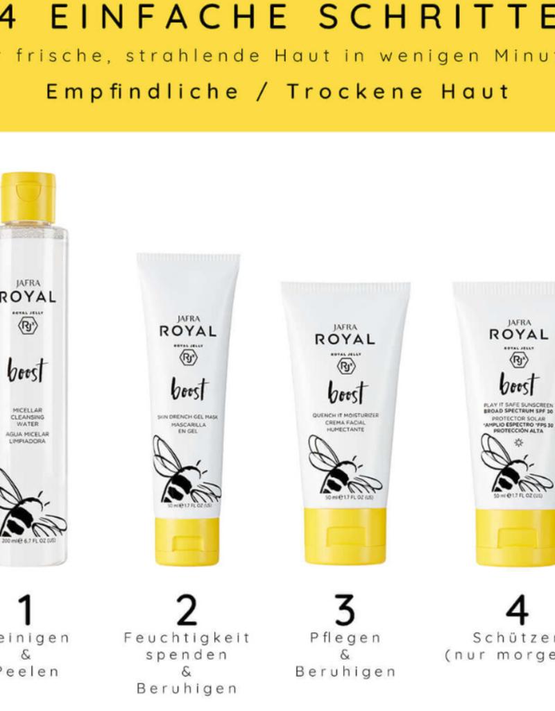 Jafra Cosmetics Jafra Royal Boost Feuchtigkeitscreme |  Quench It Moisturizer | Tube | 50 ml